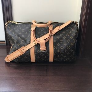 Authentic Louis Vuitton bandouliere 45